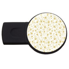 Floral Pattern Usb Flash Drive Round (2 Gb) by ValentinaDesign