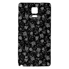Floral Pattern Galaxy Note 4 Back Case by ValentinaDesign