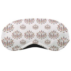 Dot Lotus Flower Flower Floral Sleeping Masks by Mariart