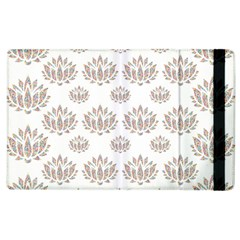 Dot Lotus Flower Flower Floral Apple Ipad 2 Flip Case by Mariart