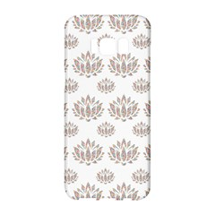 Dot Lotus Flower Flower Floral Samsung Galaxy S8 Hardshell Case  by Mariart