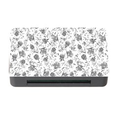 Floral Pattern Memory Card Reader With Cf by ValentinaDesign