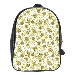 Floral Pattern School Bags(large)  by ValentinaDesign