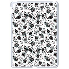 Floral Pattern Apple Ipad Pro 9 7   White Seamless Case