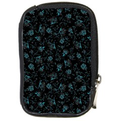Floral Pattern Compact Camera Cases by ValentinaDesign