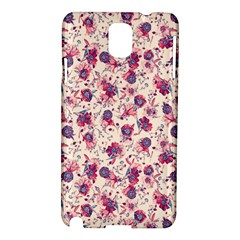 Floral Pattern Samsung Galaxy Note 3 N9005 Hardshell Case by ValentinaDesign
