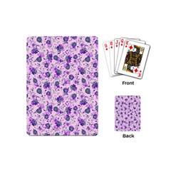 Floral Pattern Playing Cards (mini)  by ValentinaDesign