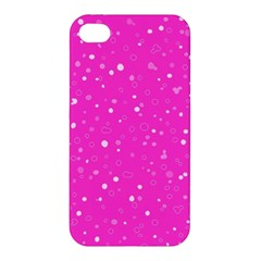 Dots Pattern Apple Iphone 4/4s Premium Hardshell Case by ValentinaDesign