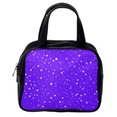 Dots Pattern Classic Handbags (one Side)