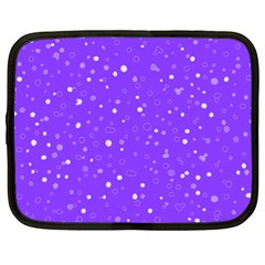Dots Pattern Netbook Case (xxl)  by ValentinaDesign