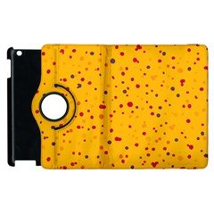 Dots Pattern Apple Ipad 3/4 Flip 360 Case by ValentinaDesign