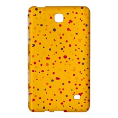 Dots Pattern Samsung Galaxy Tab 4 (7 ) Hardshell Case  by ValentinaDesign