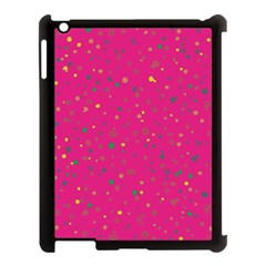 Dots Pattern Apple Ipad 3/4 Case (black) by ValentinaDesign