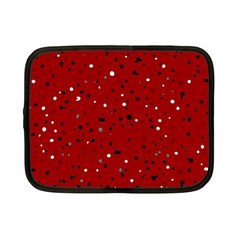 Dots Pattern Netbook Case (small)  by ValentinaDesign