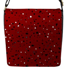 Dots Pattern Flap Messenger Bag (s)
