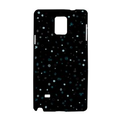 Dots Pattern Samsung Galaxy Note 4 Hardshell Case by ValentinaDesign