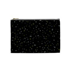 Dots Pattern Cosmetic Bag (medium)  by ValentinaDesign