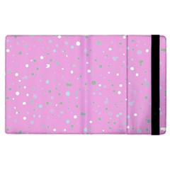 Dots Pattern Apple Ipad Pro 9 7   Flip Case by ValentinaDesign