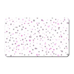 Dots Pattern Magnet (rectangular) by ValentinaDesign
