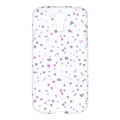 Dots Pattern Samsung Galaxy S4 I9500/i9505 Hardshell Case by ValentinaDesign