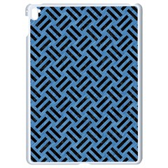 Woven2 Black Marble & Blue Colored Pencil (r) Apple Ipad Pro 9 7   White Seamless Case by trendistuff