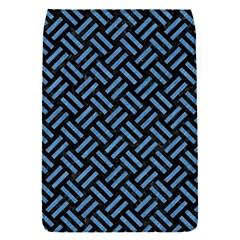 Woven2 Black Marble & Blue Colored Pencil Removable Flap Cover (s) by trendistuff