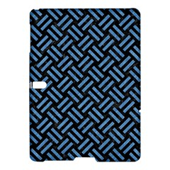 Woven2 Black Marble & Blue Colored Pencil Samsung Galaxy Tab S (10 5 ) Hardshell Case  by trendistuff