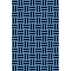 Woven1 Black Marble & Blue Colored Pencil (r) 5 5  X 8 5  Notebook by trendistuff