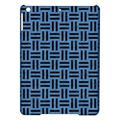 Woven1 Black Marble & Blue Colored Pencil (r) Apple Ipad Air Hardshell Case by trendistuff