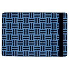 Woven1 Black Marble & Blue Colored Pencil (r) Apple Ipad Air 2 Flip Case by trendistuff