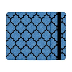 Tile1 Black Marble & Blue Colored Pencil (r) Samsung Galaxy Tab Pro 8 4  Flip Case by trendistuff