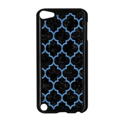Tile1 Black Marble & Blue Colored Pencil Apple Ipod Touch 5 Case (black) by trendistuff