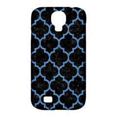 Tile1 Black Marble & Blue Colored Pencil Samsung Galaxy S4 Classic Hardshell Case (pc+silicone) by trendistuff