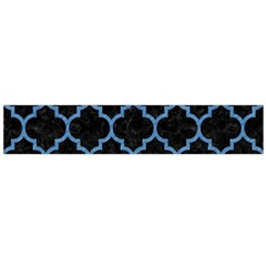 Tile1 Black Marble & Blue Colored Pencil Flano Scarf (large) by trendistuff