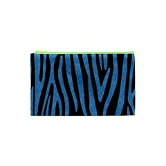 Skin4 Black Marble & Blue Colored Pencil (r) Cosmetic Bag (xs) by trendistuff