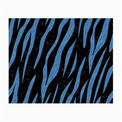 Skin3 Black Marble & Blue Colored Pencil Small Glasses Cloth by trendistuff