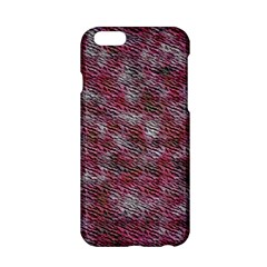Pink Texture           Apple Iphone 6/6s Black Enamel Case by LalyLauraFLM