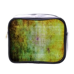 Grunge Texture               Mini Toiletries Bag (one Side) by LalyLauraFLM