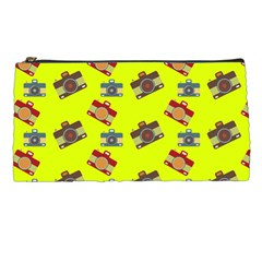 Camera Pattern          Pencil Case by LalyLauraFLM