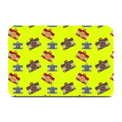 Camera Pattern               Large Bar Mat by LalyLauraFLM