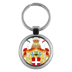 Coat Of Arms Of The Kingdom Of Italy Key Chains (round)  by abbeyz71