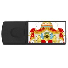 Coat Of Arms Of The Kingdom Of Italy Usb Flash Drive Rectangular (4 Gb) by abbeyz71
