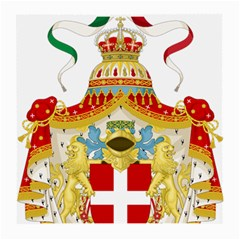 Coat Of Arms Of The Kingdom Of Italy Medium Glasses Cloth (2-side) by abbeyz71
