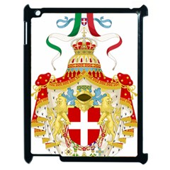 Coat Of Arms Of The Kingdom Of Italy Apple Ipad 2 Case (black) by abbeyz71