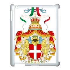 Coat Of Arms Of The Kingdom Of Italy Apple Ipad 3/4 Case (white) by abbeyz71