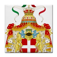 Coat Of Arms Of The Kingdom Of Italy Face Towel by abbeyz71