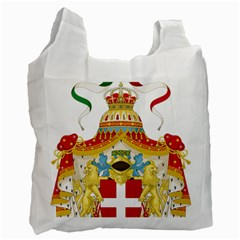 Coat Of Arms Of The Kingdom Of Italy Recycle Bag (one Side) by abbeyz71