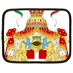 Coat Of Arms Of The Kingdom Of Italy Netbook Case (xl)  by abbeyz71
