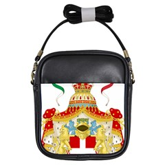 Coat Of Arms Of The Kingdom Of Italy Girls Sling Bags by abbeyz71