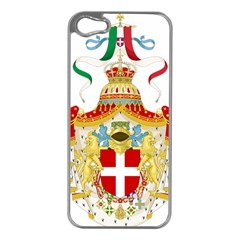 Coat Of Arms Of The Kingdom Of Italy Apple Iphone 5 Case (silver) by abbeyz71